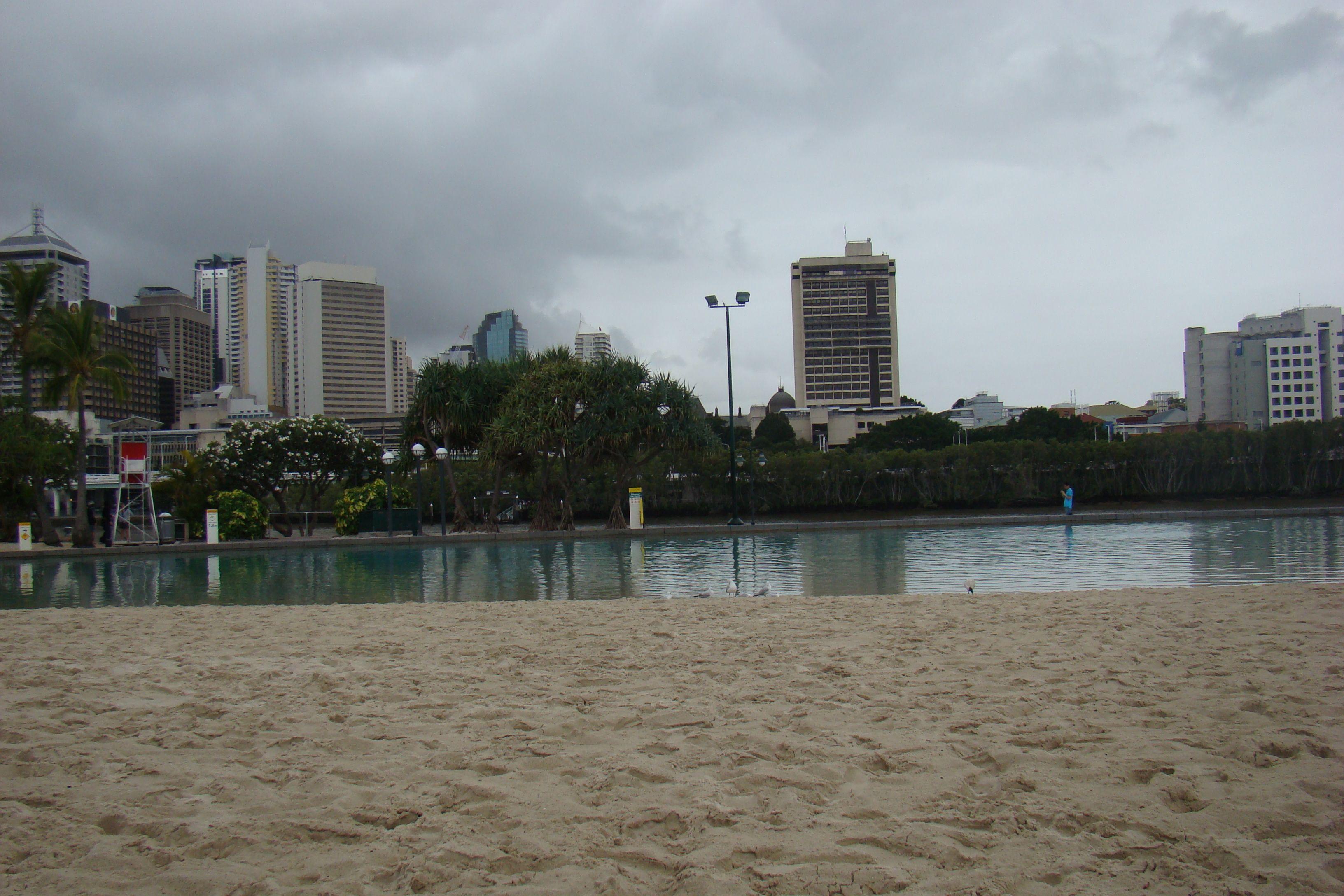 Brisbane // Australien - Innenstadt Lagune