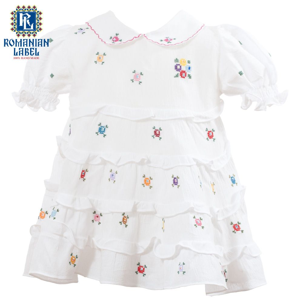 $54 Adorably little, the traditional dress is a 100% handmade out of natural materials. If you were looking for a healthy way to dress your child, this is the way to go