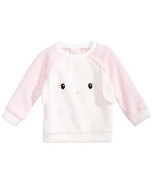d7c6f9a45f75 First Impressions Baby Girls Bunny Sweatshirt