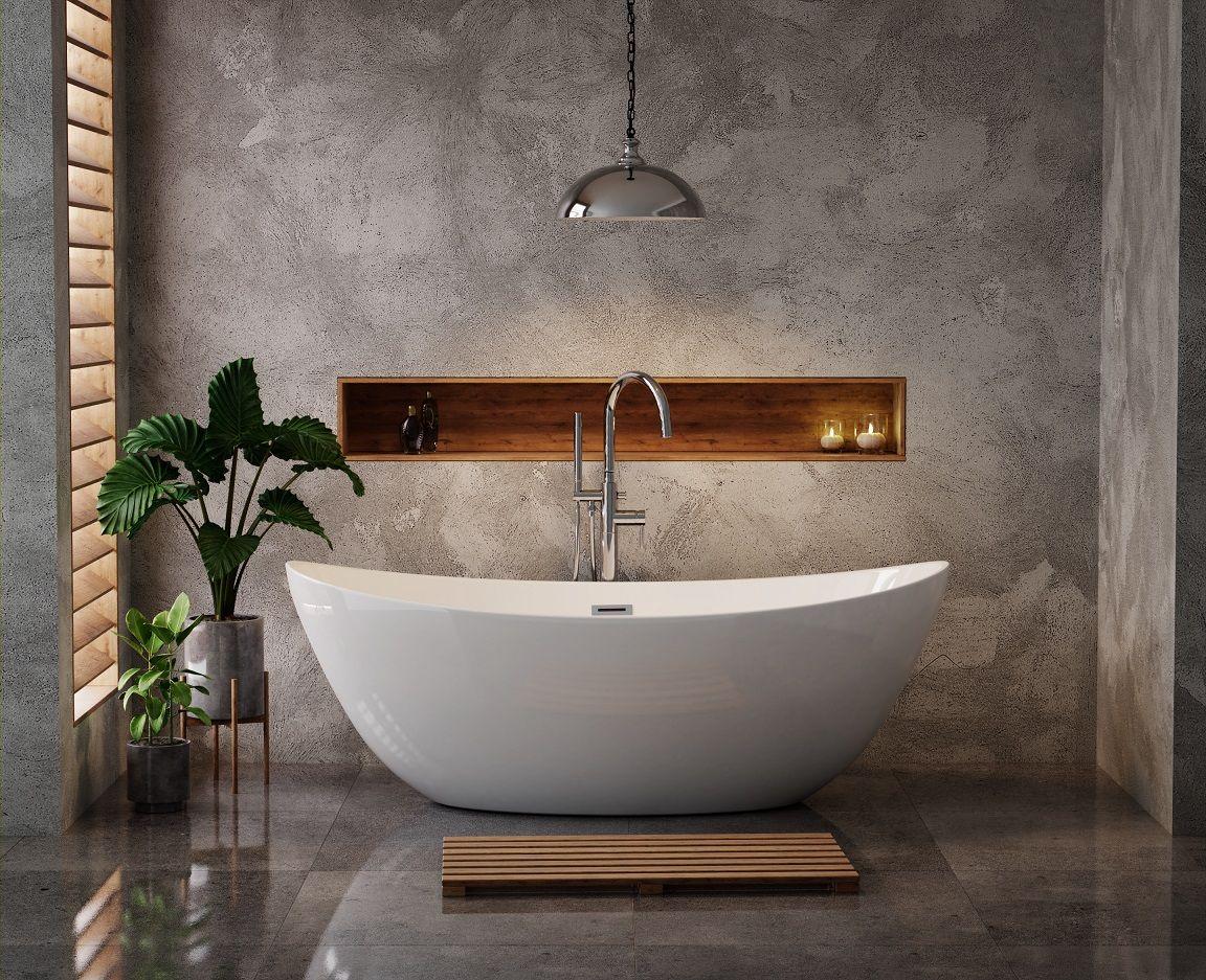 Jedna Z Naszych Propozycji Jest Wanna Wolnostojaca The North Bath Frigg Klasyk Wsrod Wanien Wol Bathroom Interior Design Small Bathroom Design Bathroom Layout