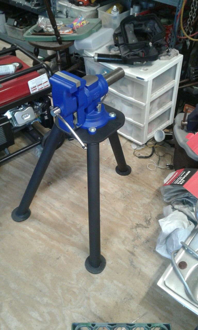 Tripod Vice Stand Metal Working Tools Carpentry Projects Vise Stand