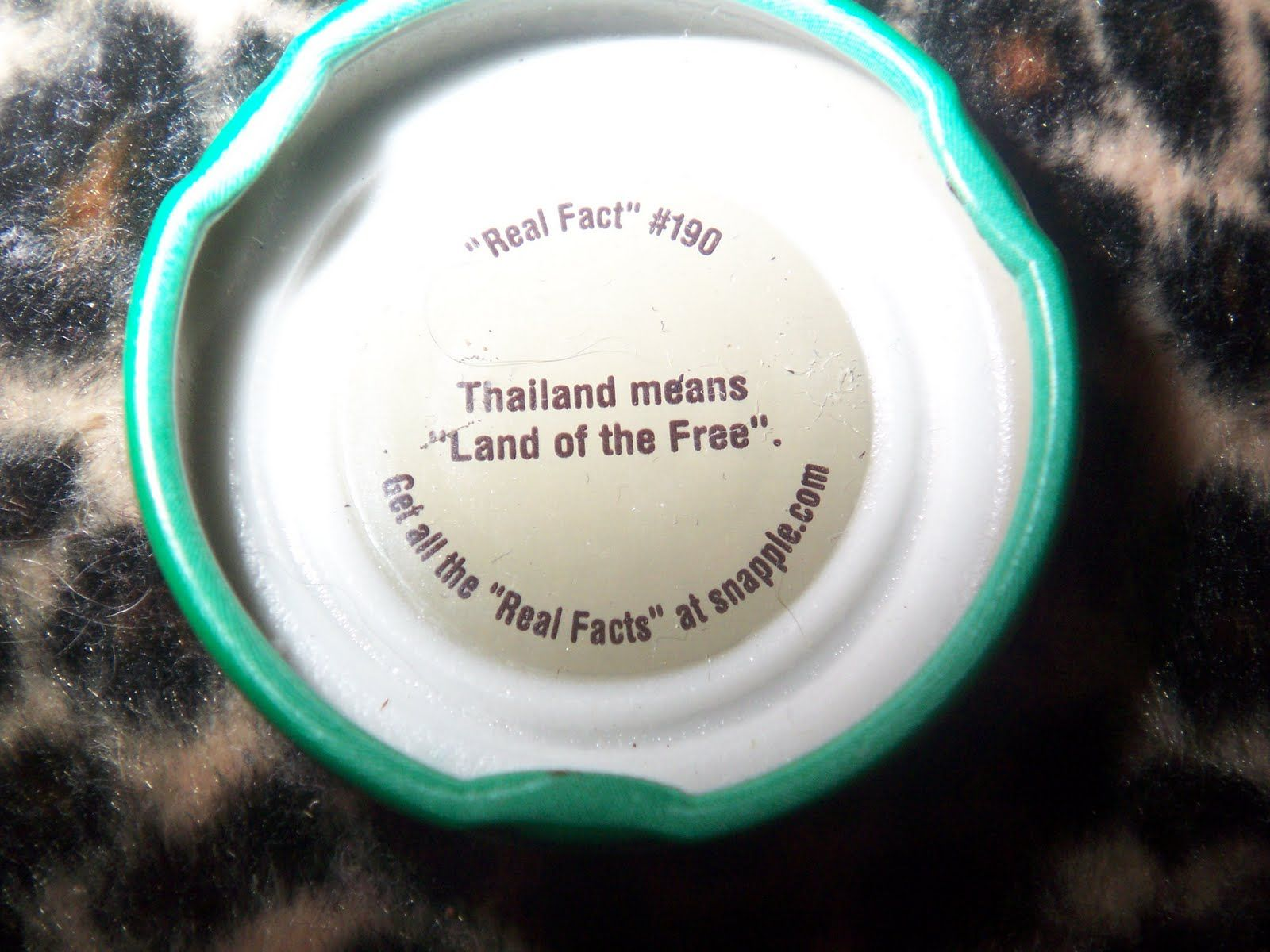 Thailand means 'Land of the Free'. Real facts, Facts