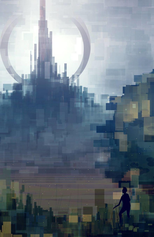 Les Paysages Géométriques De Scott Uminga Dessein De Dessin Art - City skylines turned into geometric metropolises by scott uminga