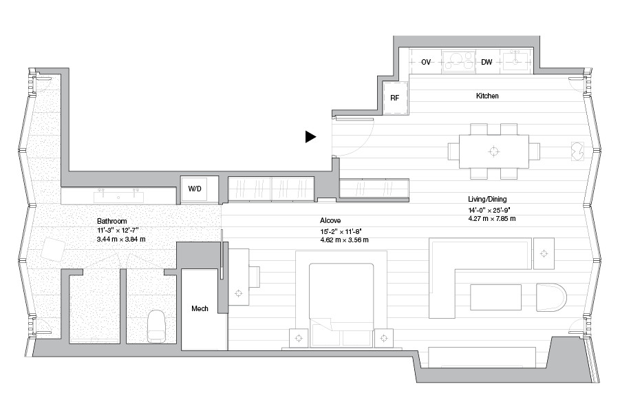 Luxury Midtown Condos Lofts Penthouses For Sale 100e53 Residence 18b Floor Plans Penthouse For Sale Pent House