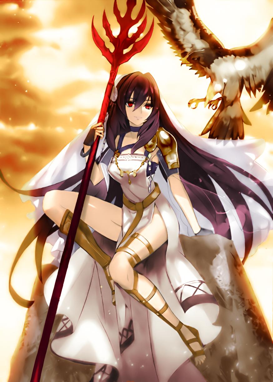 Lancer~Fate/Grand Order by Riku Sempai | Anime Art (Mostly