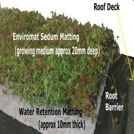 Green Roof Kit For Pitched Roof