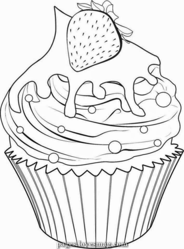 Cute drawings: Cupcakes, ice cream and truffles (Cupcakes, ice cream ... » Pages.lovesmag.com