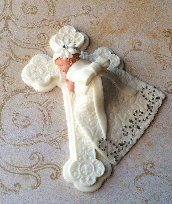 Christening Cake Topper Girl Ideias Batisado Da Yara In