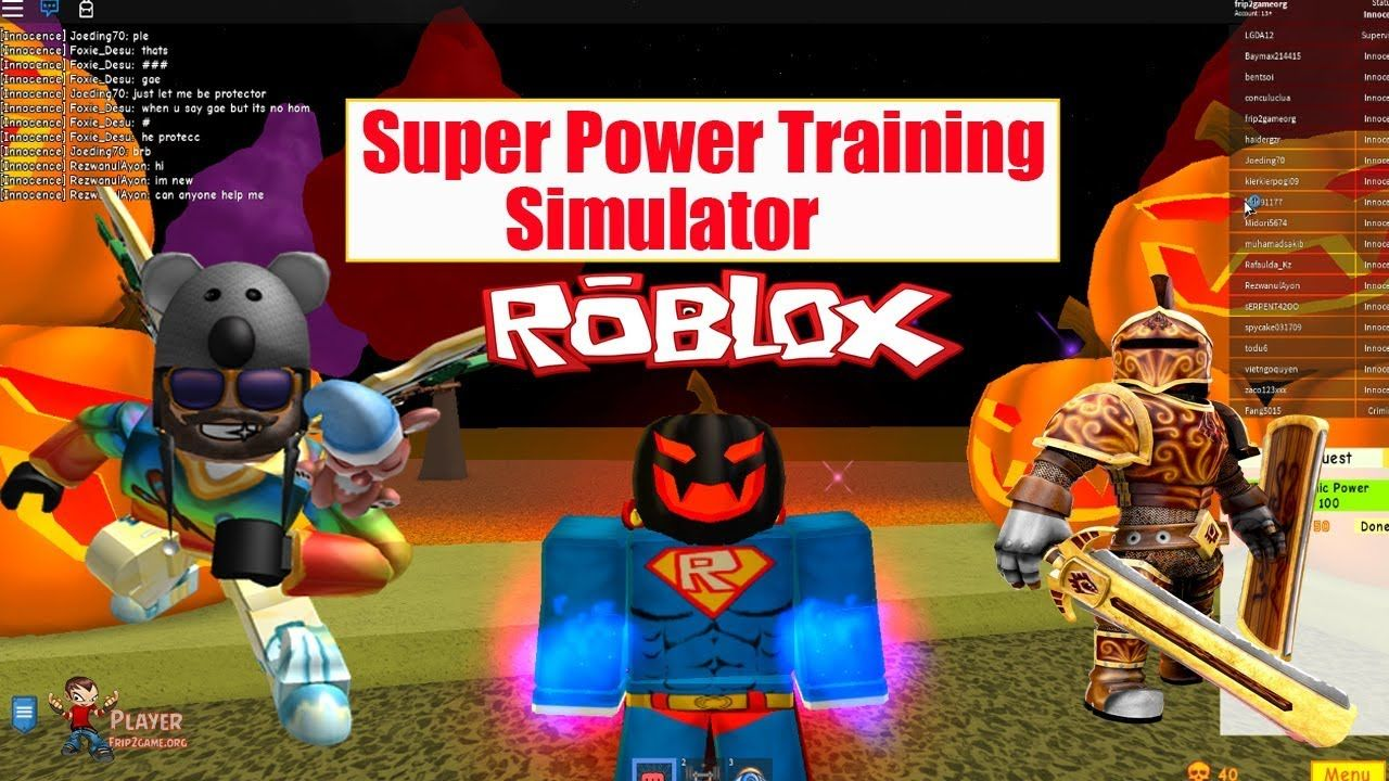 ROBLOX] Super Power Training Simulator UPDATE LOG - Let's Play Now
