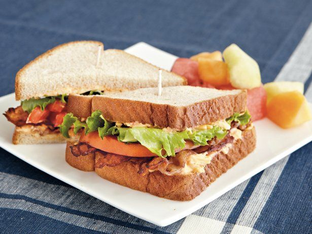 Here's an easy-to-make cheesy sandwich made with bacon, lettuce and tomato – ready in just 10 minutes.