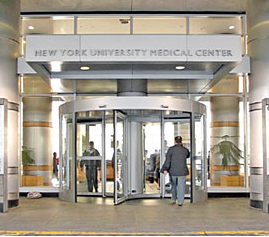 NYU Langone Medical Center is a sponsor of the 2015 Annual