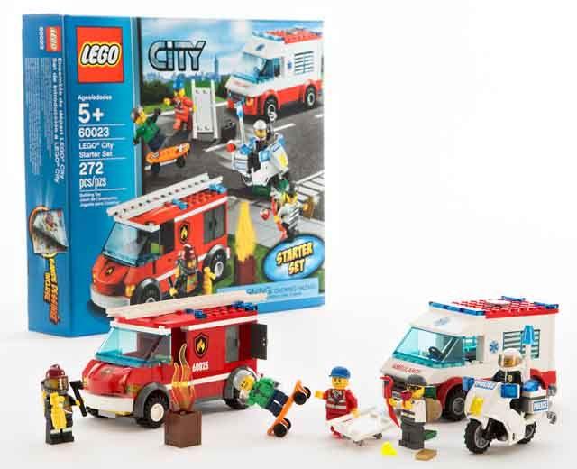 LEGO City Starter Set | James & John | Business for kids
