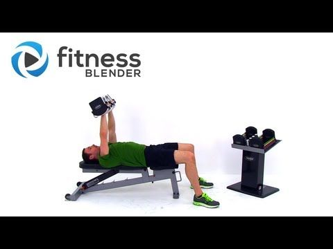 fitness blender at home upper body workout