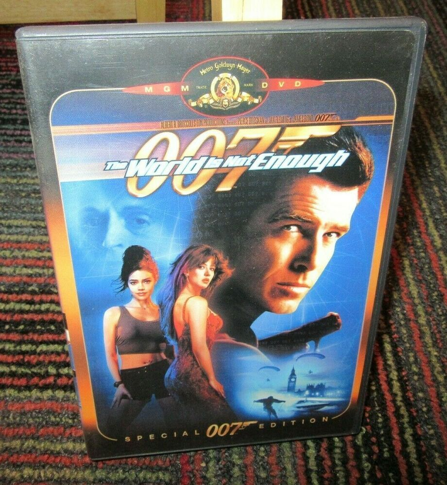 The World Is Not Enough 007 Special Edition Dvd Movie Pierce