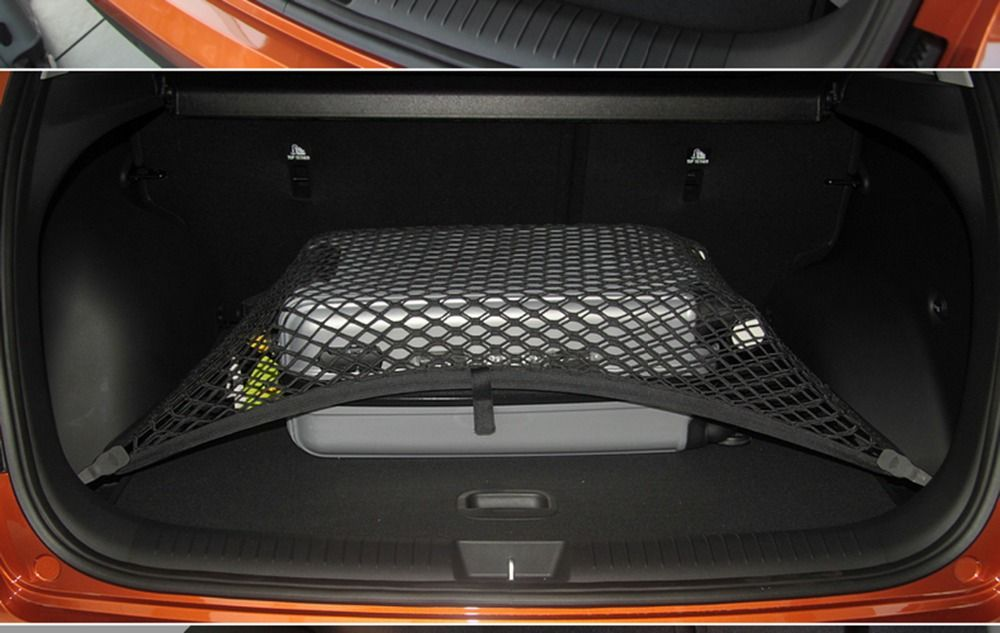 High Elastic Custom Fit Single Layer Car Trunk Nets Cargo Nets