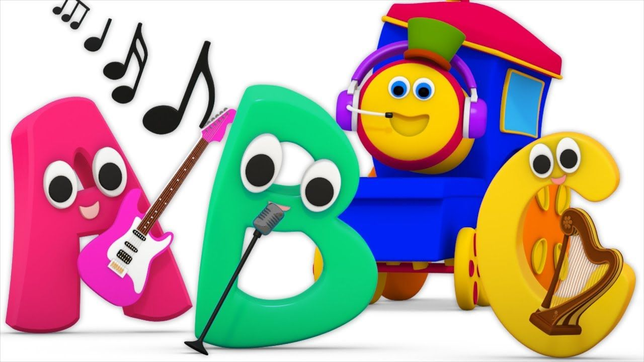 Abc Sound Song Learning Street With Bob The Train Sight Words Cartoons For Babies By Kids Tv Abc Sounds Song Abc Sounds Kids Tv