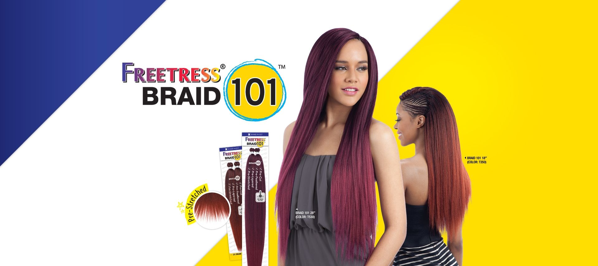 WATER WAVE BULK 12 - Shake-N-Go Fashion, Inc. | Box braid