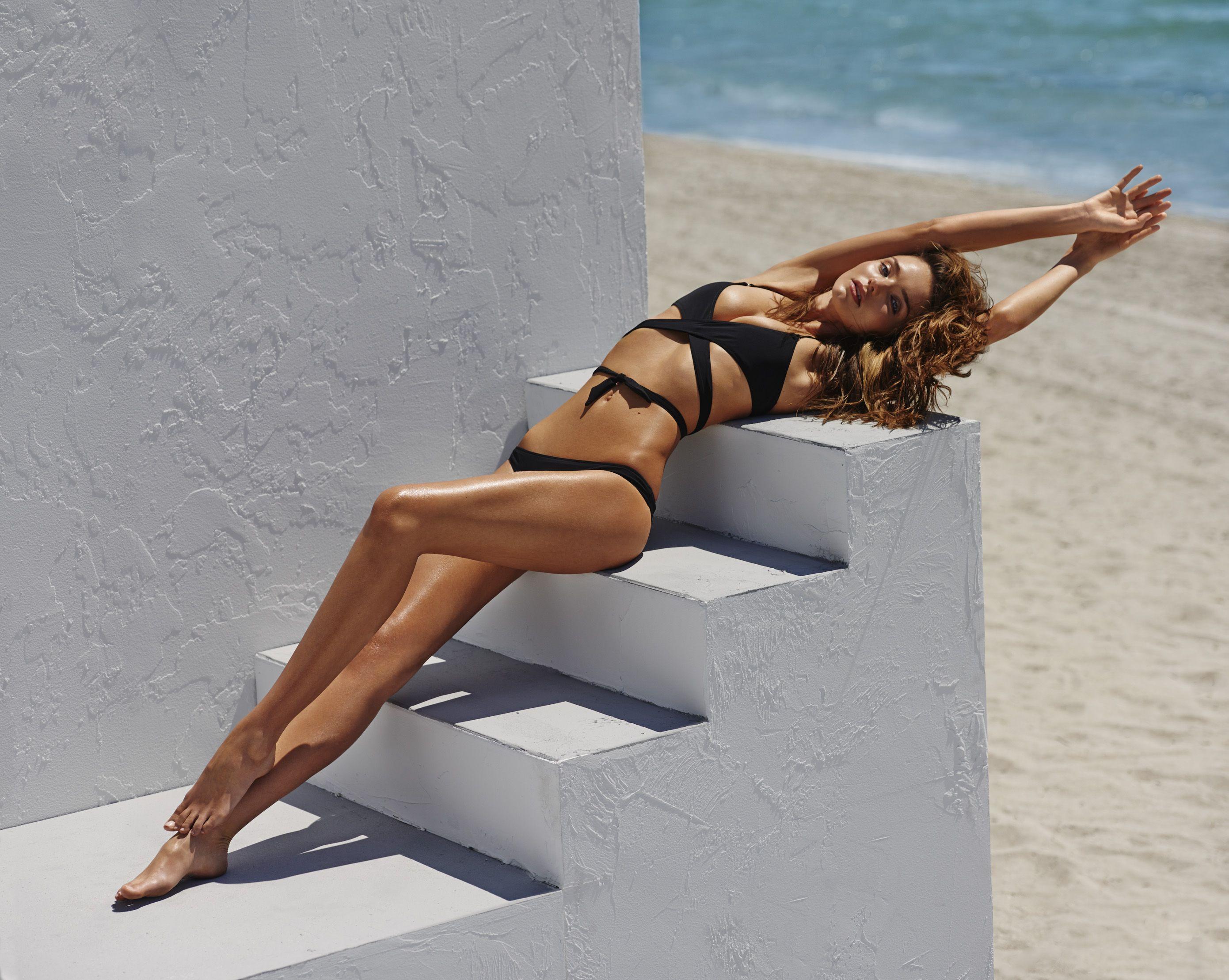 fc192b696 Miranda Kerr Slips Into Swimwear and Spills Her Secrets to The Edit ...