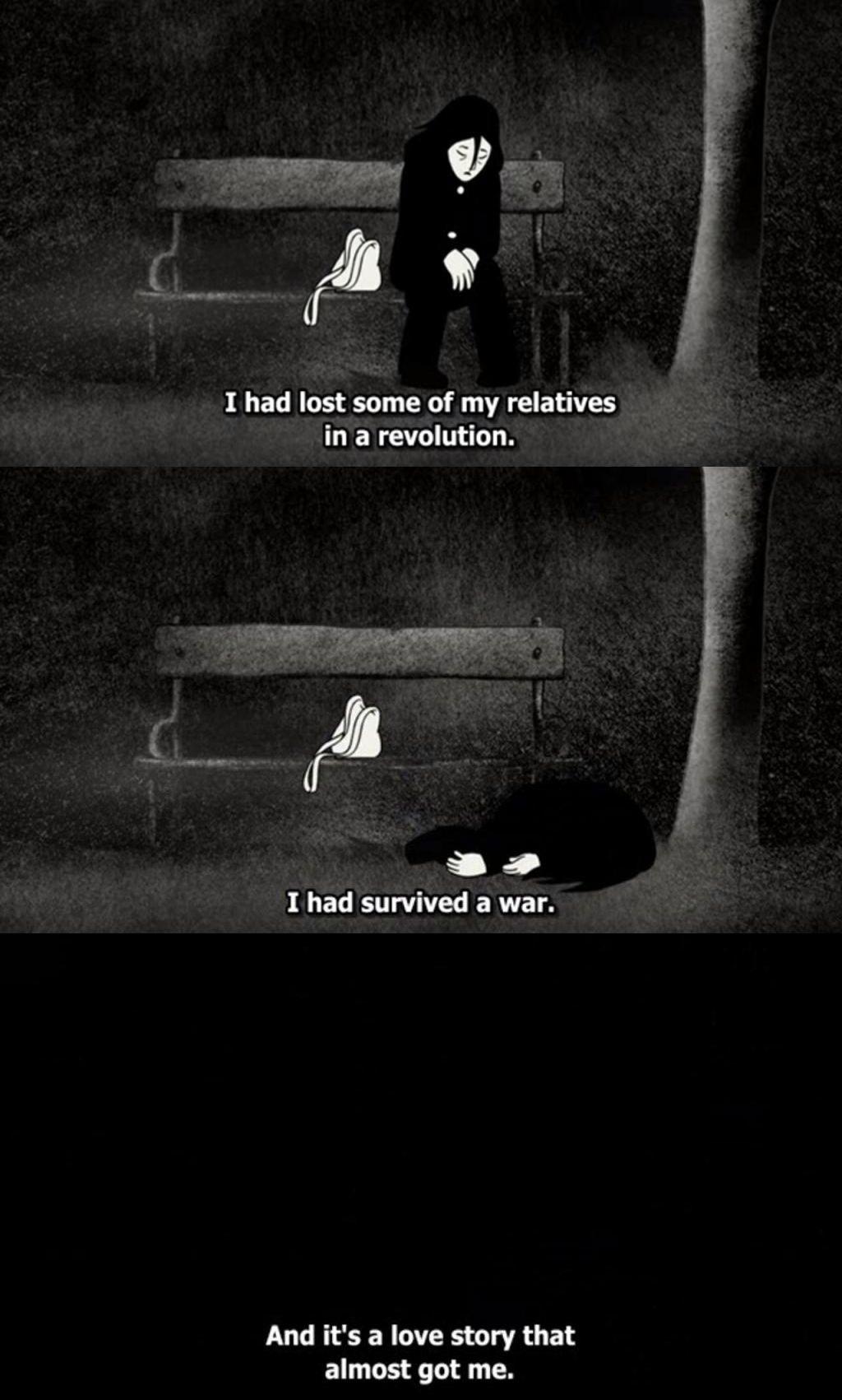 Persepolis When Marjane S Heart Got Broken Film Lovers Movie Talk Film Quotes