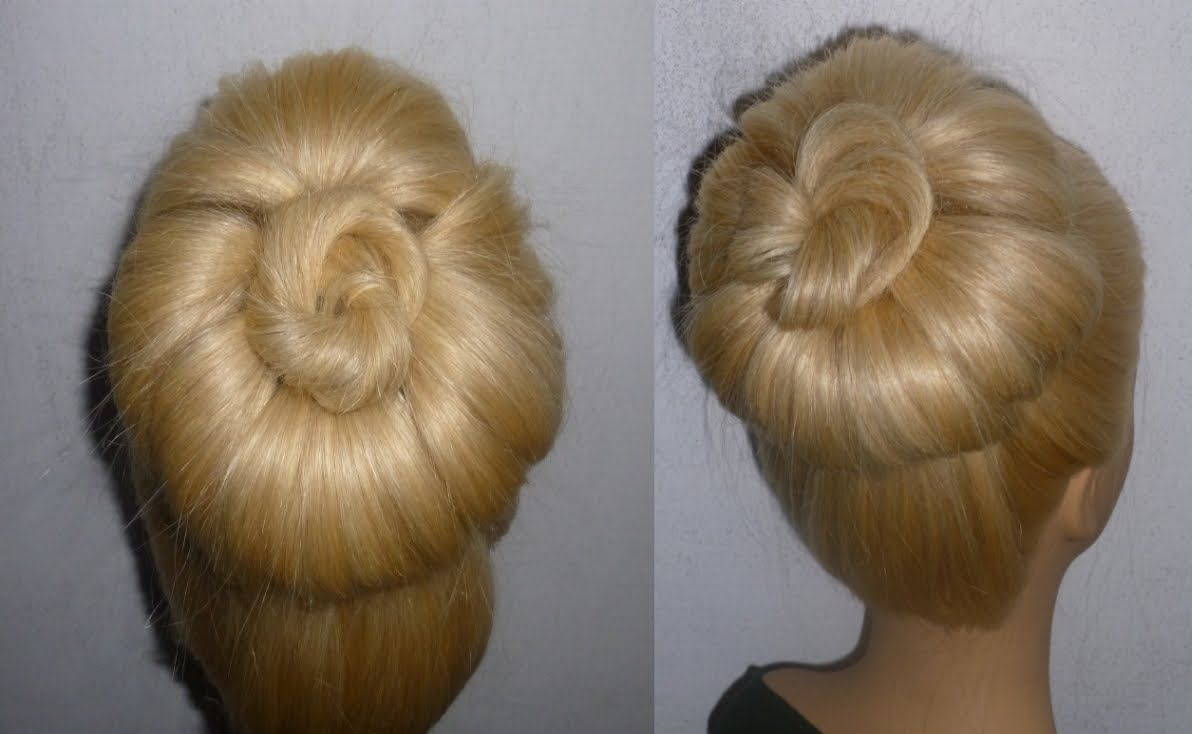 Schnelle Frisuren Mit Duttkissen Hochsteckfrisuren Donut Hair Bun