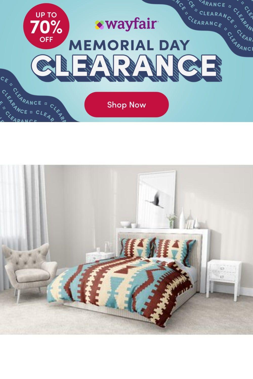 Photo of Dakota Fields Mediterranean Comforter Set, Sherpa/Polyester/Polyfill/Velvet in Rust/Teal/Ivory   Wayfair   Home Decor