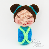 Liling is a precious little Kokeshi, she loves sitting under the cherry blossom tree and reading great adventure books.