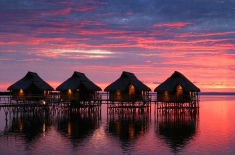 Flamingo Bay, Mosambique.
