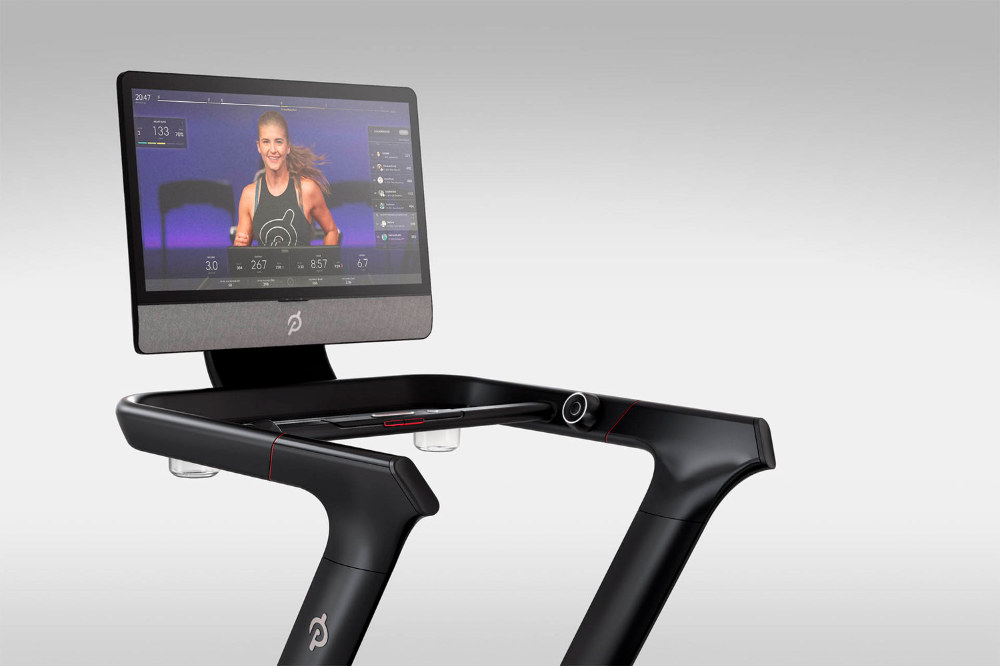 Can You Watch Tv On Peloton Peloton Tread Renderings At Home Workouts Biking Workout Peloton