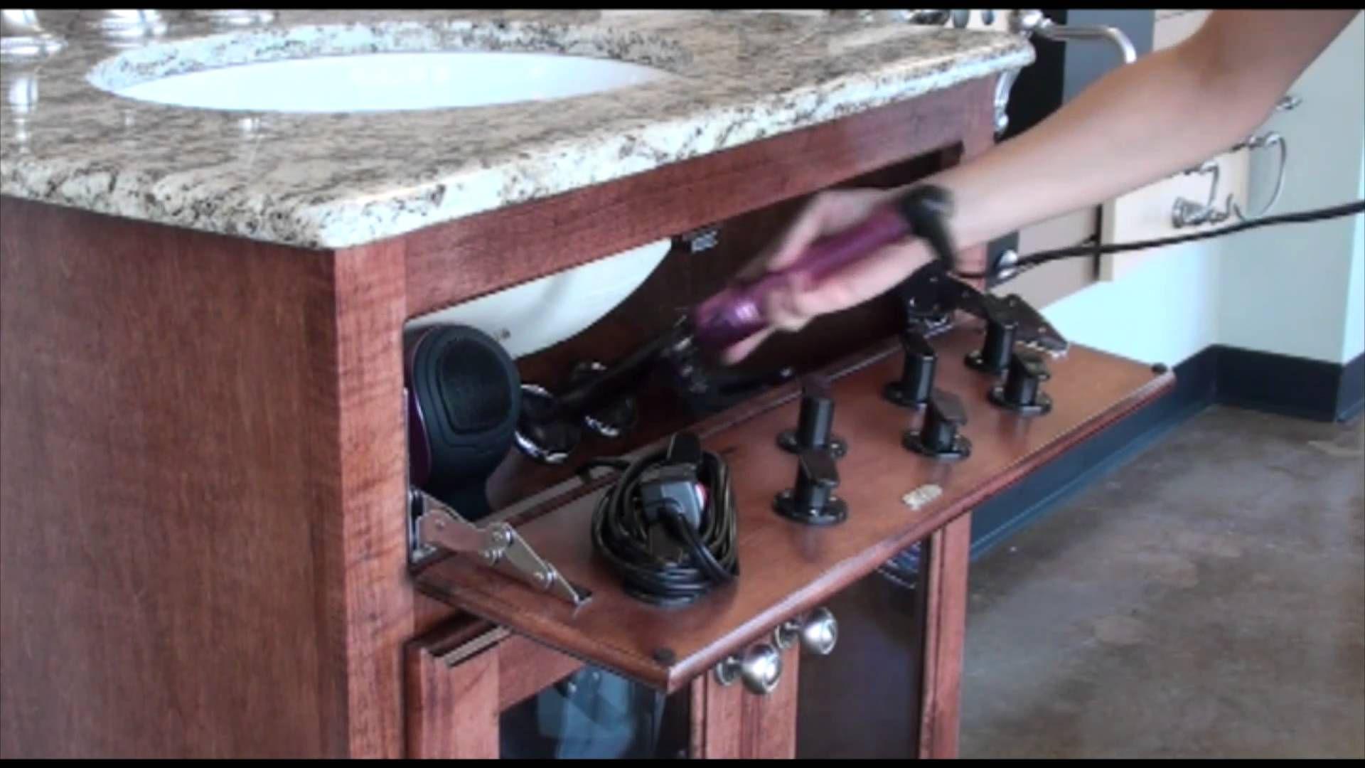 Vanity Valet Secret Blow Dryer Curling Iron Flat Iron