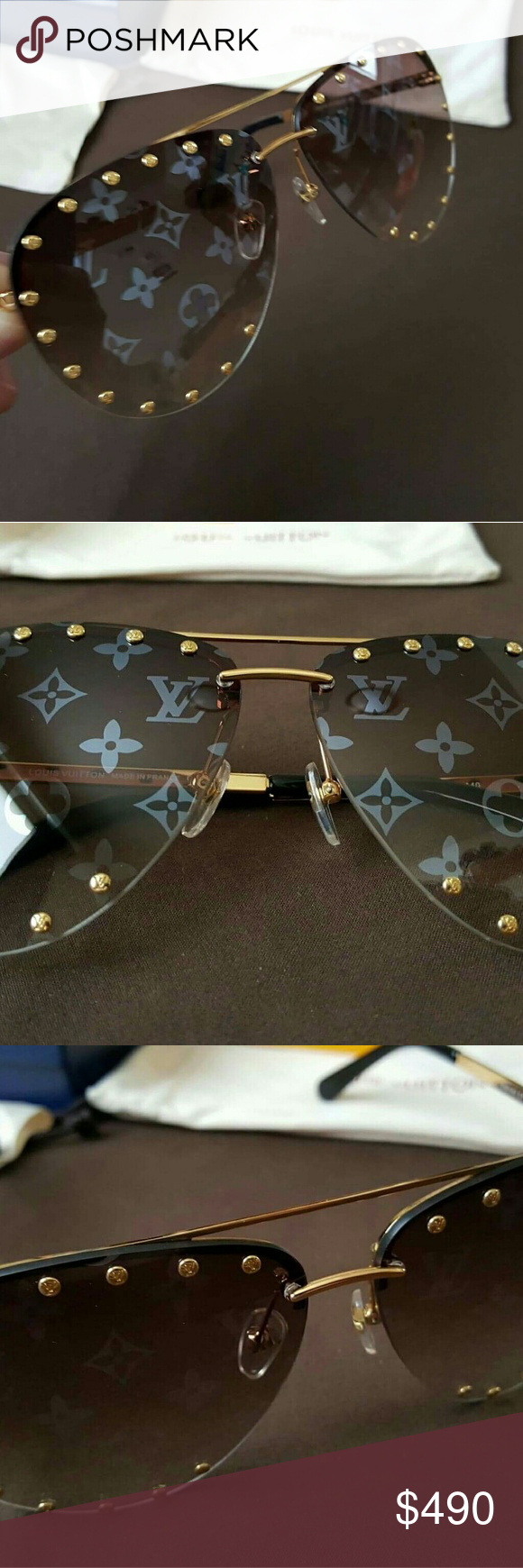 89552d2e41b5 Used only a couple times Sold out in stores No scratches Made in France Louis  Vuitton Accessories Sunglasses