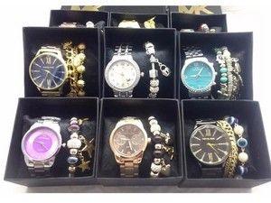 16b9db84000 Venha comprar Replica de Relógio Michael Kors MK primeira linha dourados