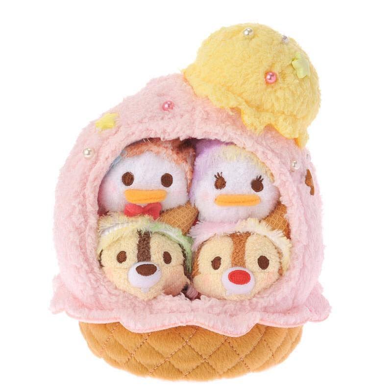 Tsum Tsum Ice Cream Set - Donald, Daisy, Chip, and Dale