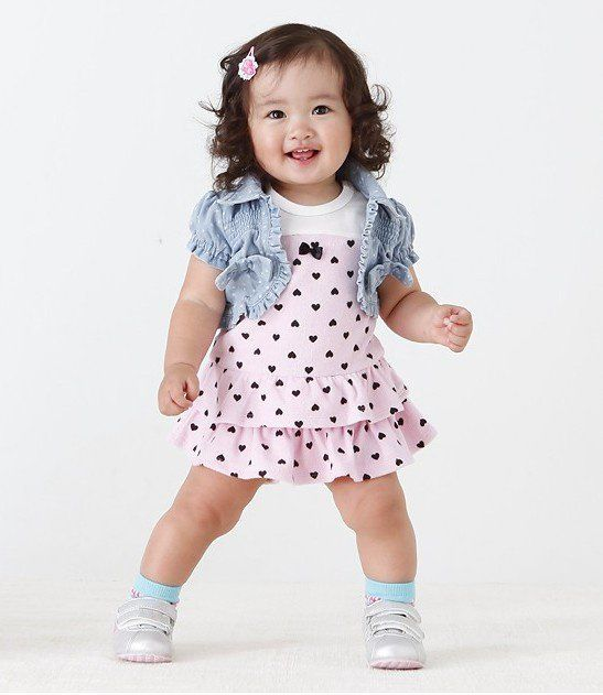 Cute Little Girl Dresses Photo Album - Reikian