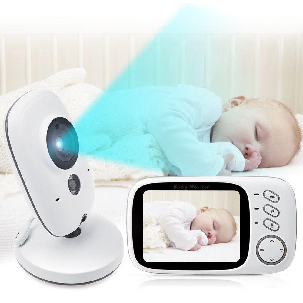 2,4 /'/' 2,4 G Wireless Baby Digital Audio Video Monitor Kamera Nachtsicht Neu