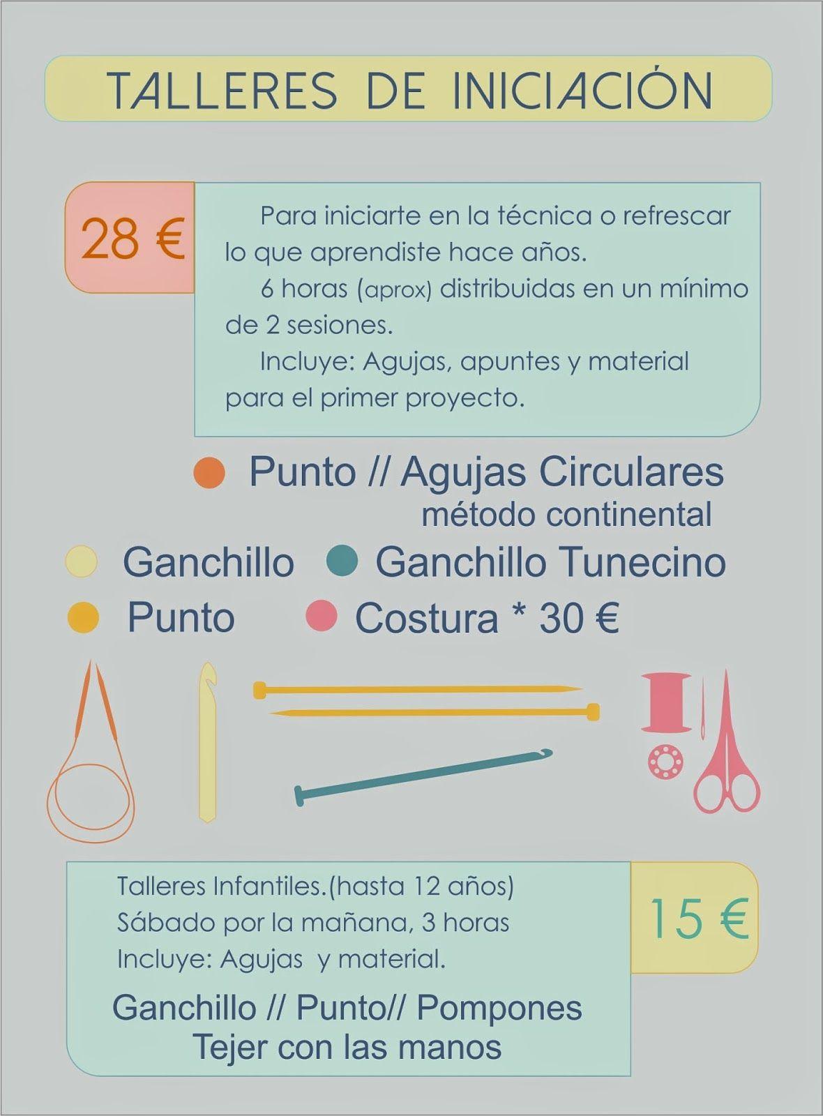 Mikita Lapena: Talleres a la Carta | ganchillo | Pinterest | Taller ...
