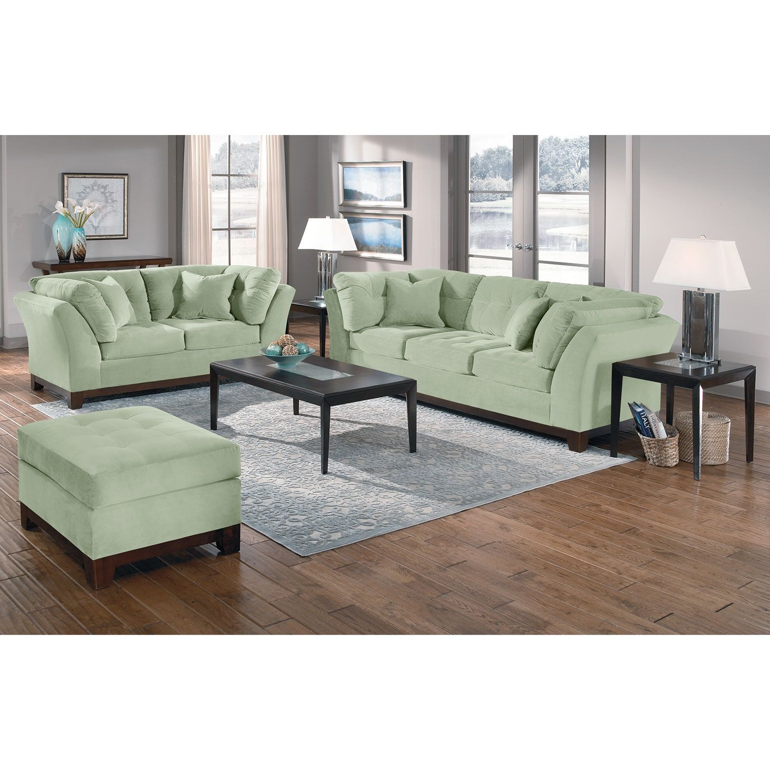 Take Comfort The Top Notch Seating Comfort Of The Sebring Living Room Collection Is Matched Only By Its Furniture Value City Furniture Living Room Collections #value #city #living #room #tables