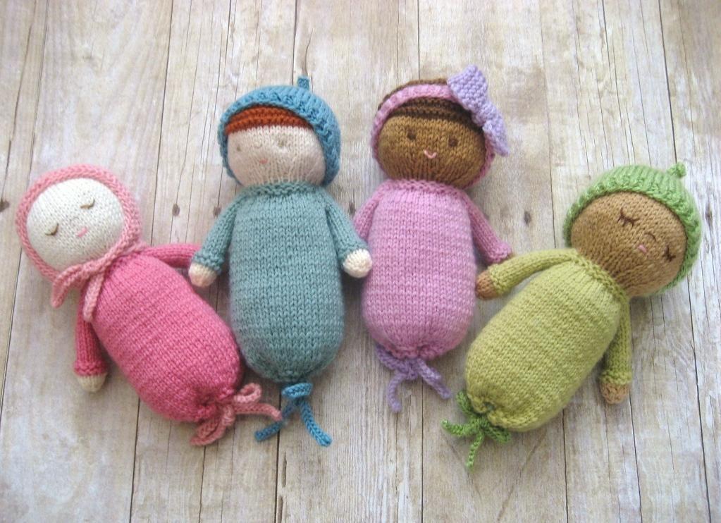 Knit Baby Doll Patterns Knitting Babies Kids Pinterest