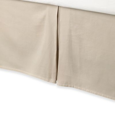 Buy Anthology Whisper King Bed Skirt In Oatmeal From Bed Bath