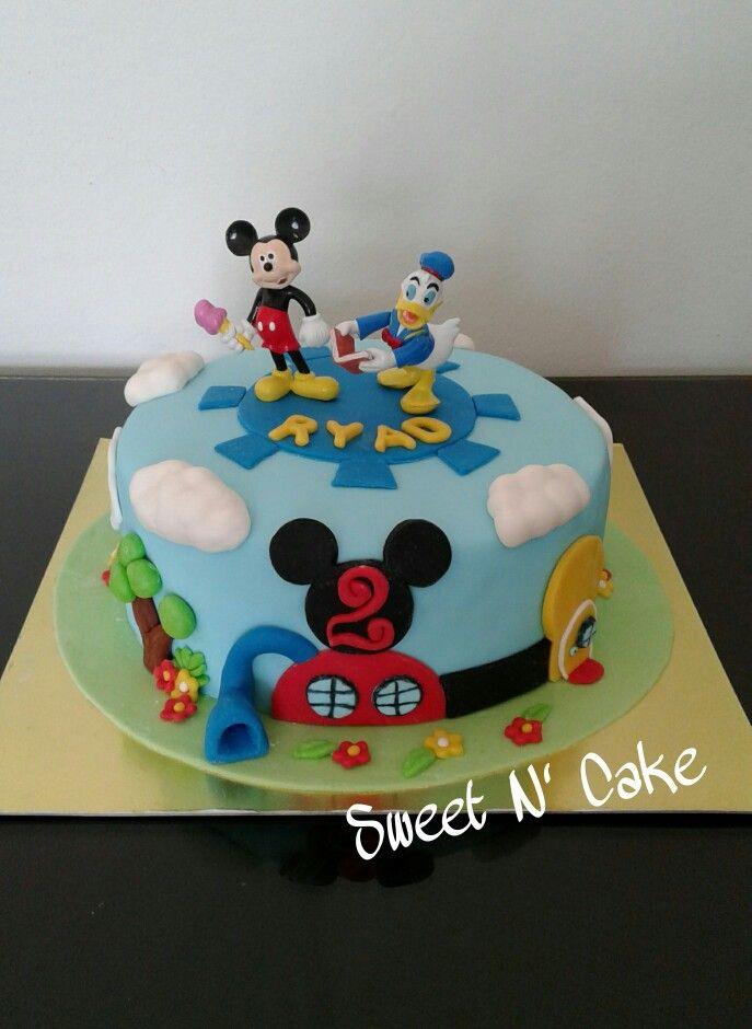 g 226 teau maison de mickey mickey house cake enfants cake designs and cake