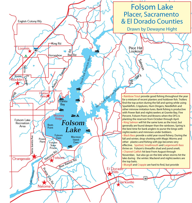 Folsom Lake My California Fishing Boat Bucket List