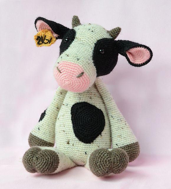 Cow pattern by Kristel Droog | Häkeln