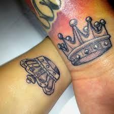 king and queen tattoo - Google zoeken