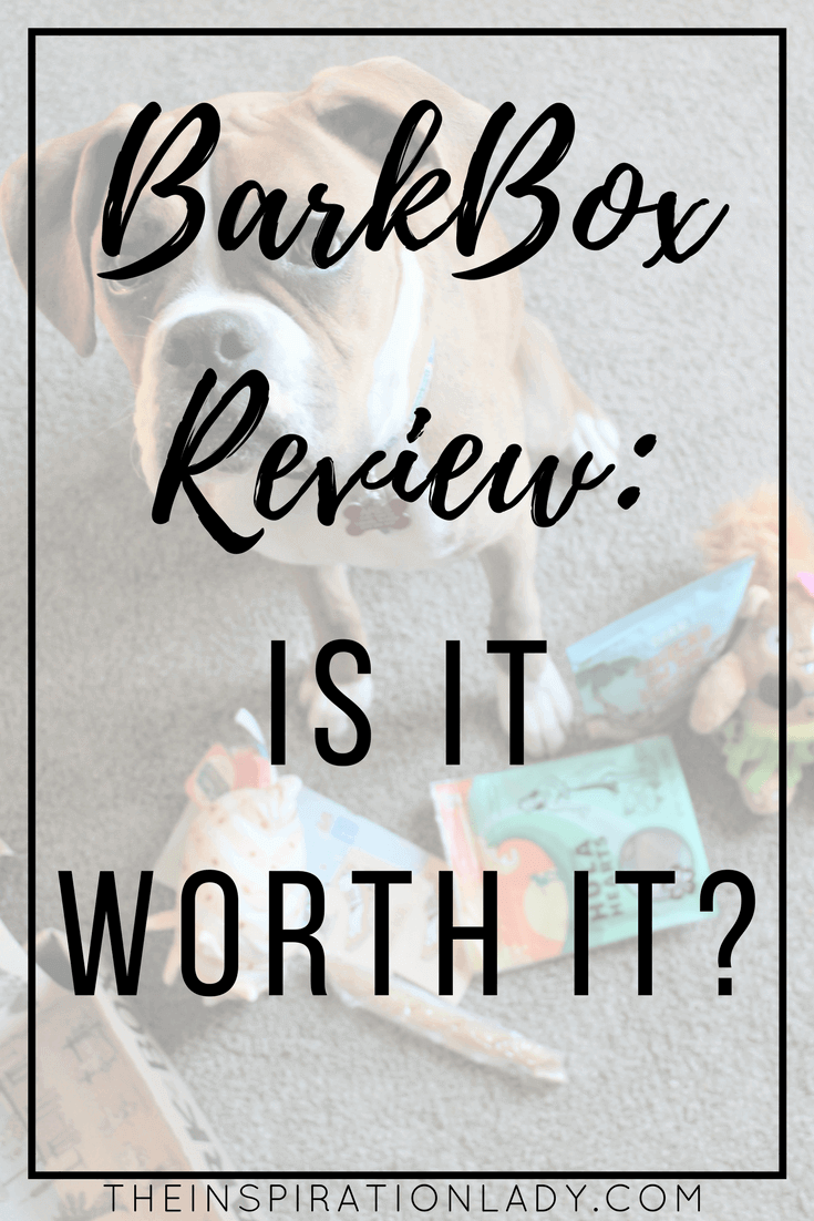 BarkBox is a subscription box full of 46 goodies for your