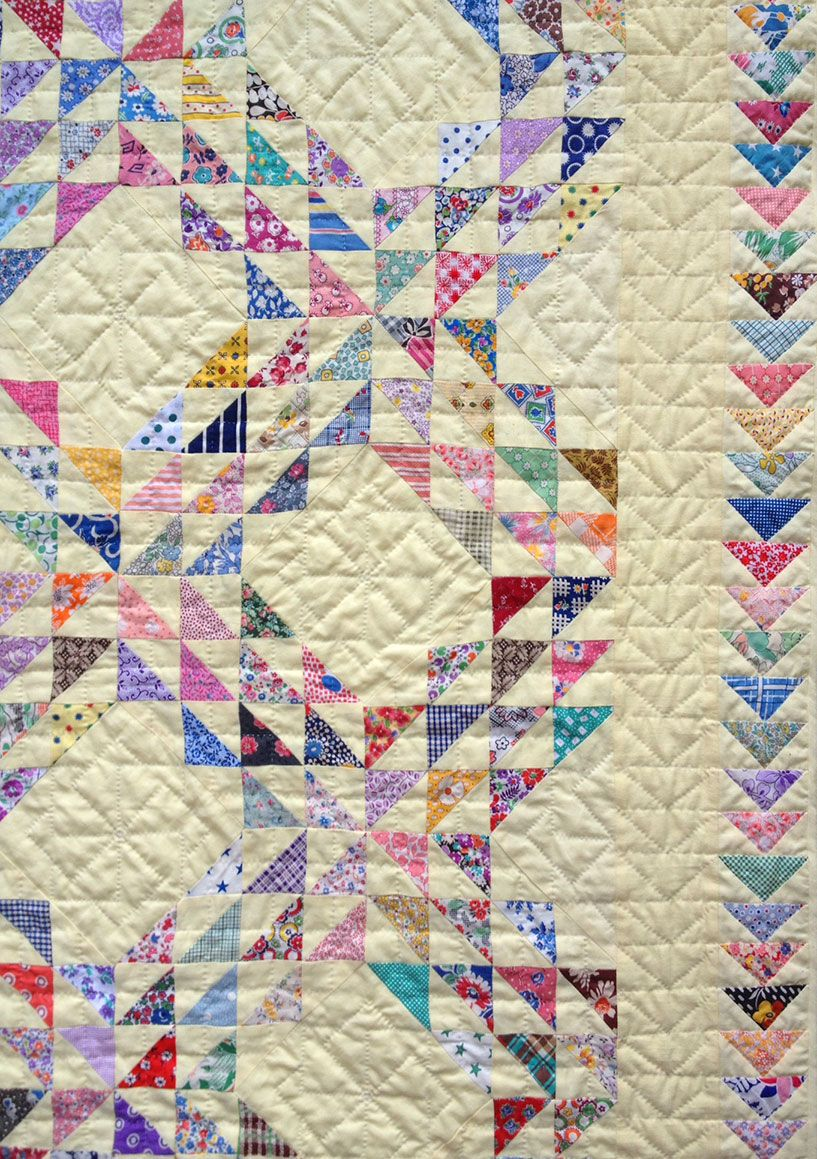 Ocean Waves Quilt – Q is for Quilter