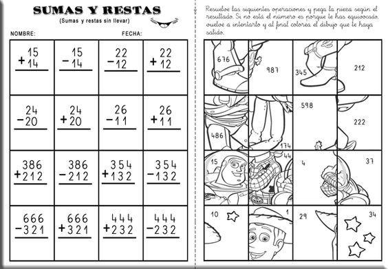 01-sumas-llevando-y-restas-sin-llevar-011 | olimpiada matemática ...