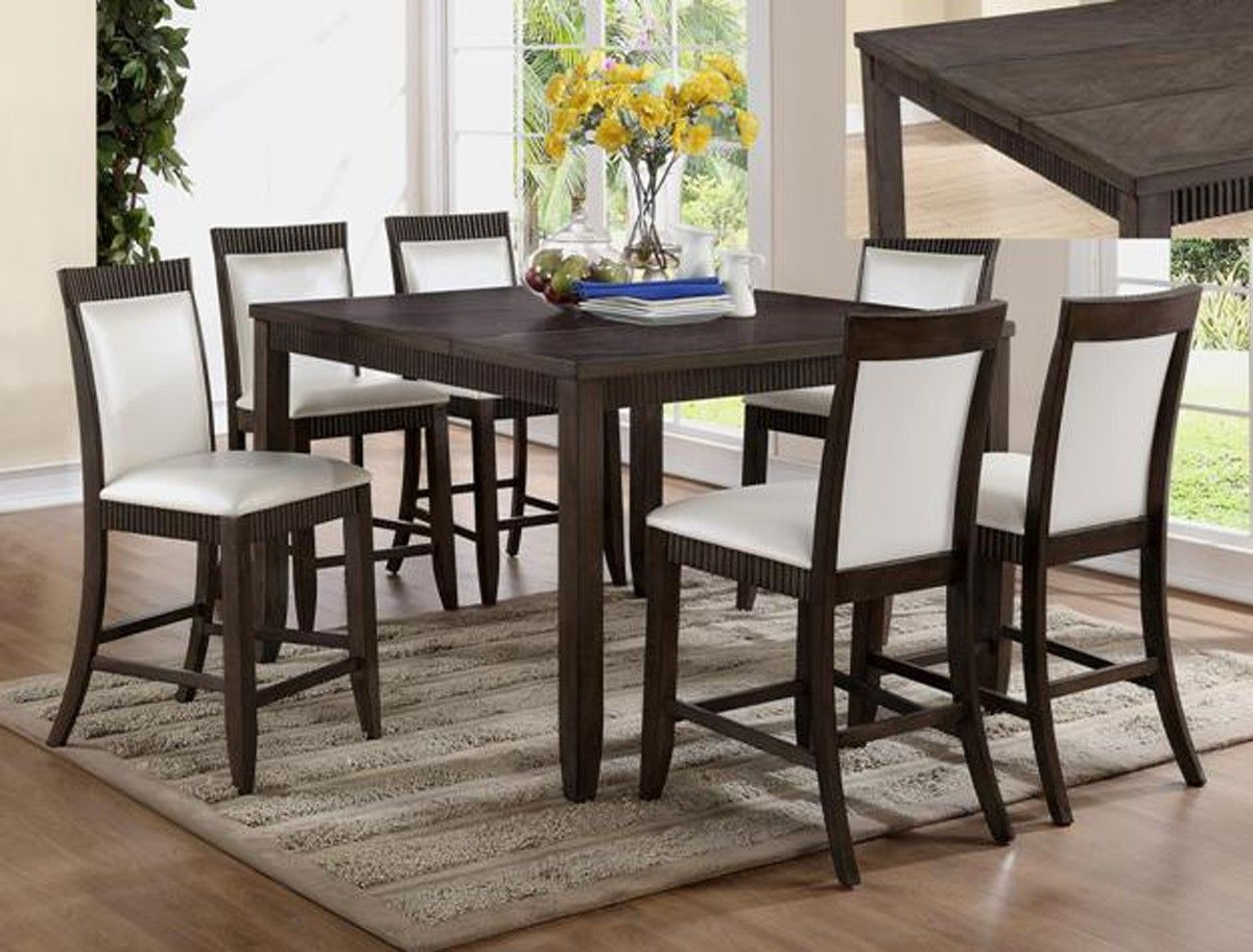 """Ariana Counter Height Table And 4 Chairs $78900 Table 54"""" X 36~54 Delectable 36 Dining Room Table Review"""