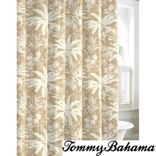 Wonderful Tommy Bahama Bayloon Breeze Cotton Shower Curtain $30   Overstock.com