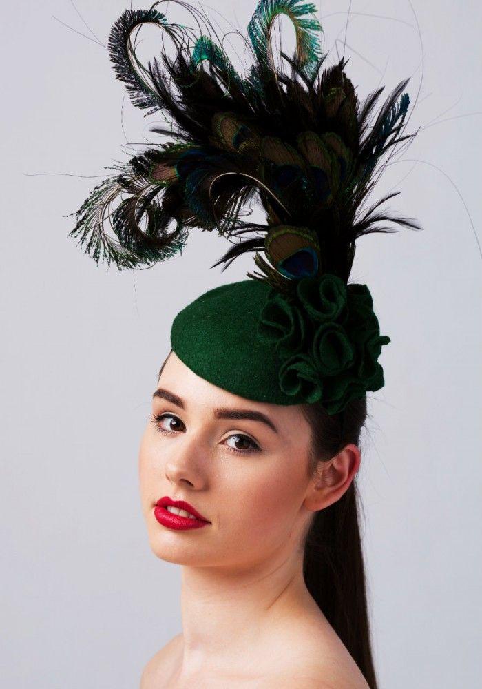 8afd1d76 Winter wedding headpiece by Carrie Jenkinson Wedding Fascinators, Wedding  Hats, Fascinator Hats, Headpiece