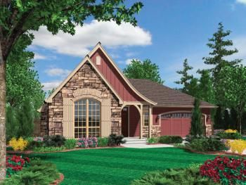 House Plan 2559 00095 Craftsman Plan 1 802 Square Feet 3 Bedrooms 2 Bathrooms Cottage Plan Cottage House Plans Cottage Style House Plans