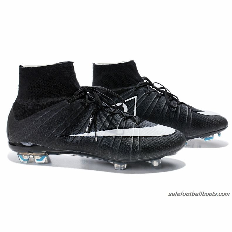 12cf5e6ff Nike Mercurial Superfly FG CR7 Black White $104.99 | Nike Mercurial ...